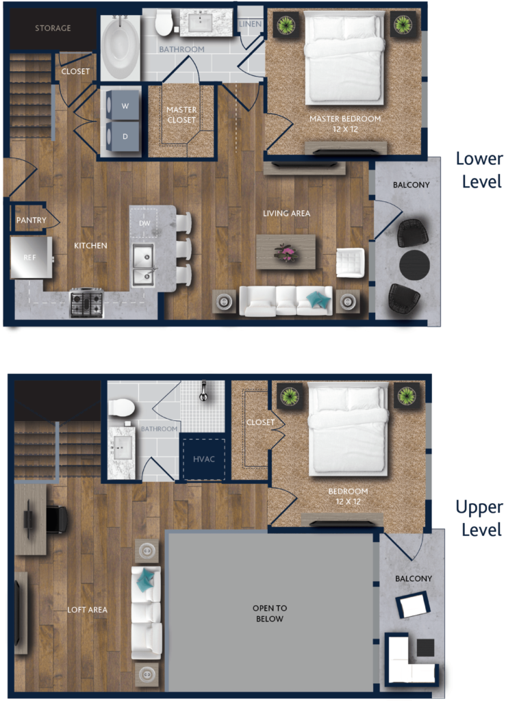 Two-Bedroom Apartment, Two Floors, Too Awesome