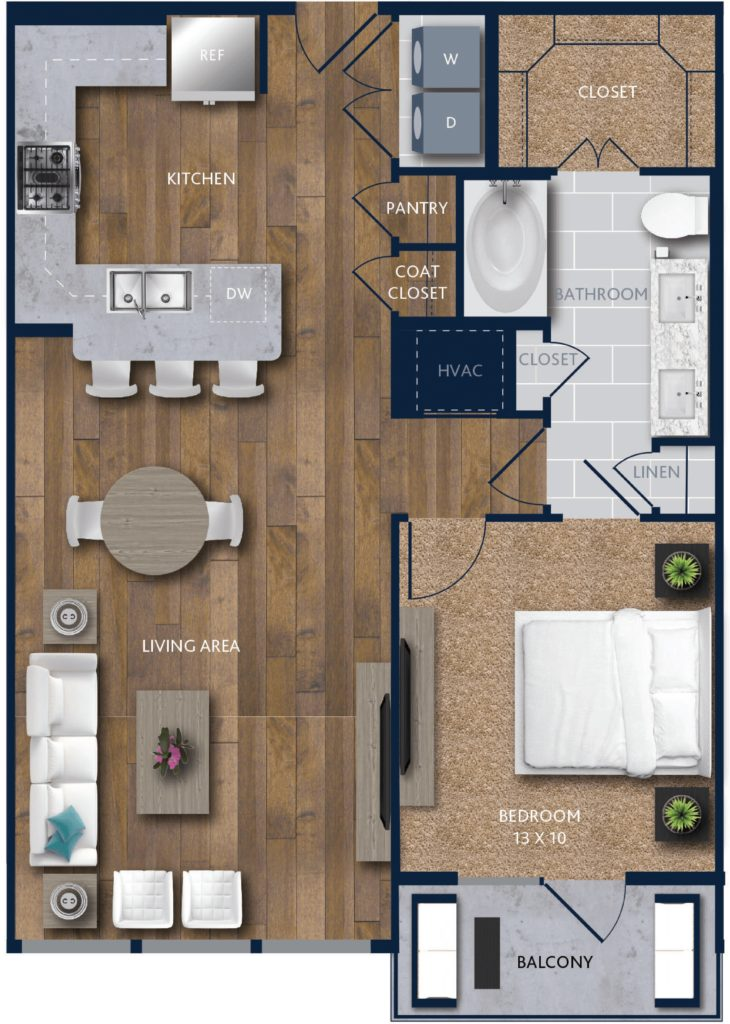 1 bedroom citycentre apartments